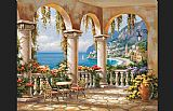 Sung Kim Terrace Arch I painting