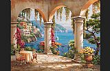 Sung Kim Terrace Arch II painting