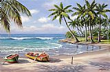 Famous Bay Paintings - Tropical Bay