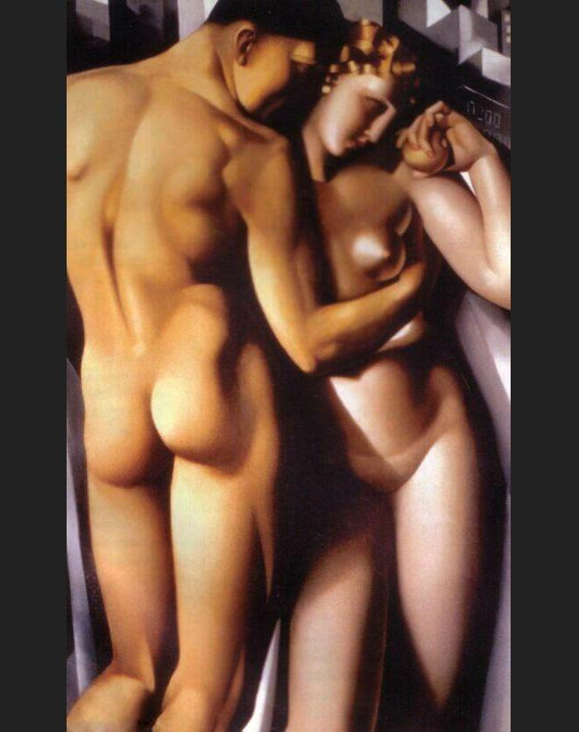 Tamara de Lempicka Adam and Eve
