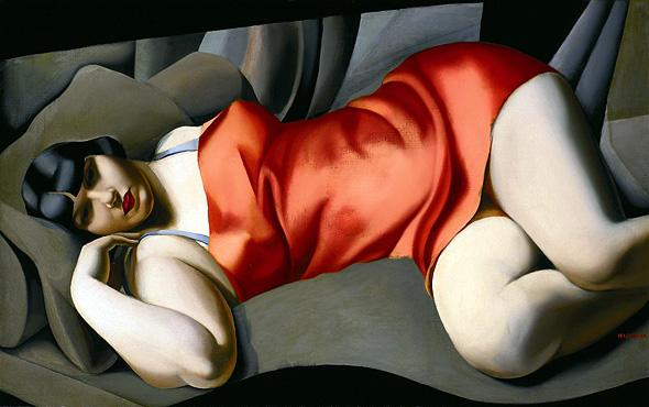 Tamara de Lempicka Woman in Red