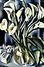 Famous Lilies Paintings - Calla Lilies