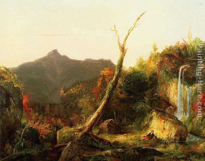 Thomas Cole Autumn Landscape Mount Chocorua