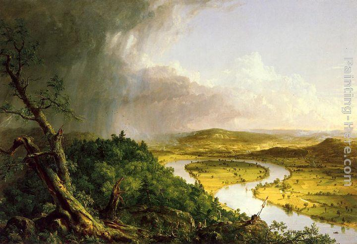 Thomas Cole The Oxbow (The Connecticut River near Northampton)