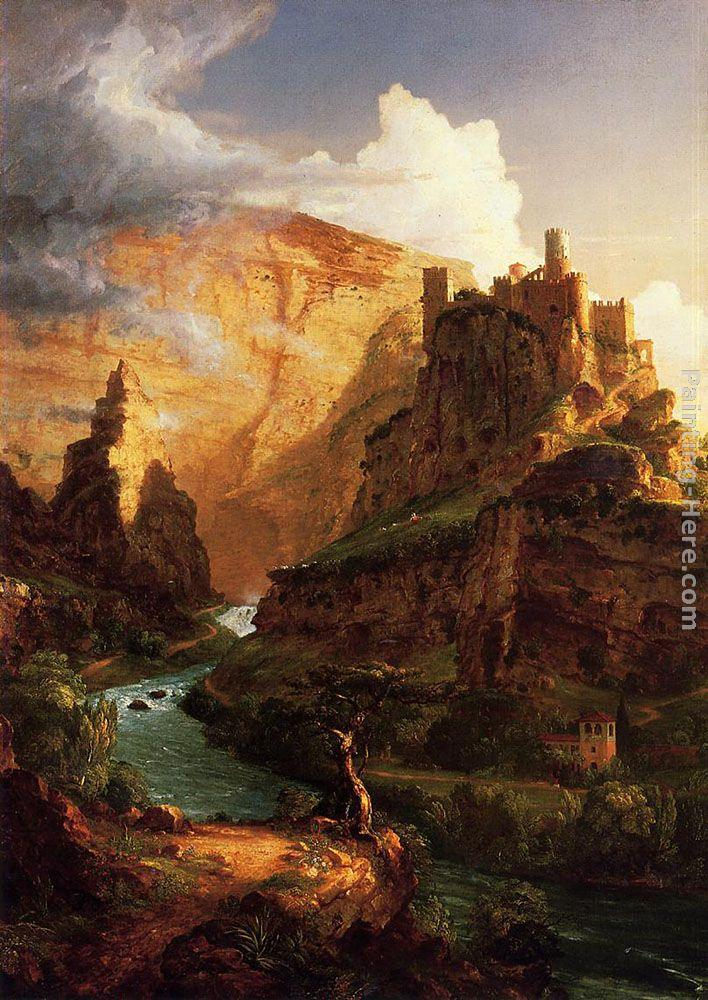 Thomas Cole Valley of the Vaucluse