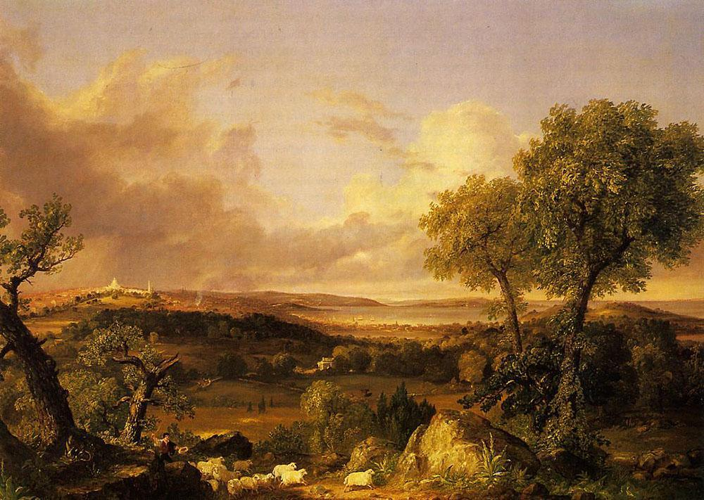 Thomas Cole View of Boston
