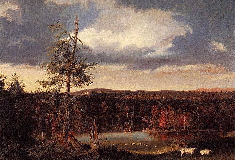 Thomas Cole the Seat of Mr. Featherstonhaugh in the Distance