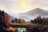 Thomas Cole - A View in the United States of America in Autumn