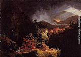 Thomas Cole Gelyna View near Ticonderoga painting