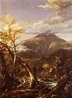 Thomas Cole Indian Pass Tahawus painting