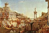 Thomas Cole The Course of Empire The Consummation painting
