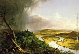 Thomas Cole Famous Paintings - The Oxbow