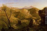 Thomas Cole The Vale and Temple of Segesta, Sicily painting