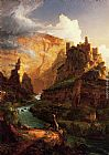 Thomas Cole Wall Art - Valley of the Vaucluse