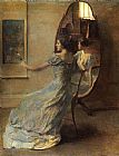 Thomas Dewing - Before the Mirror