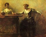 Thomas Dewing - The Fortune Teller