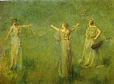 Thomas Dewing - The Garland