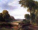 Thomas Doughty - Landscape with Footbridge