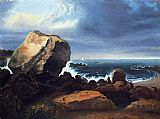 Famous Beach Paintings - Scituate Beach, Massachusetts
