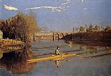 Thomas Eakins - Max Schmitt in a Single Scull