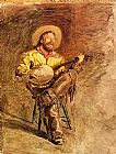 Thomas Eakins - cowboy singing