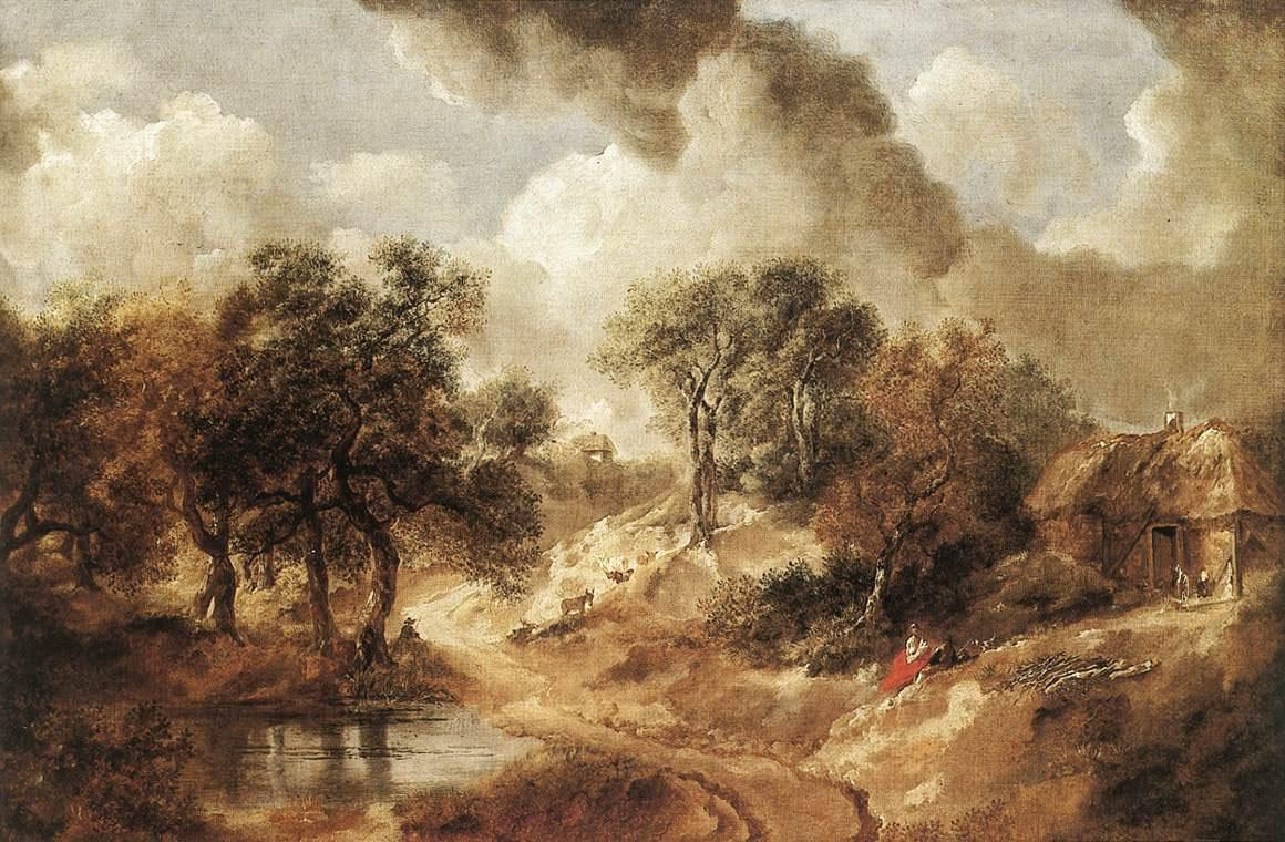 Thomas Gainsborough Landscape in Suffolk
