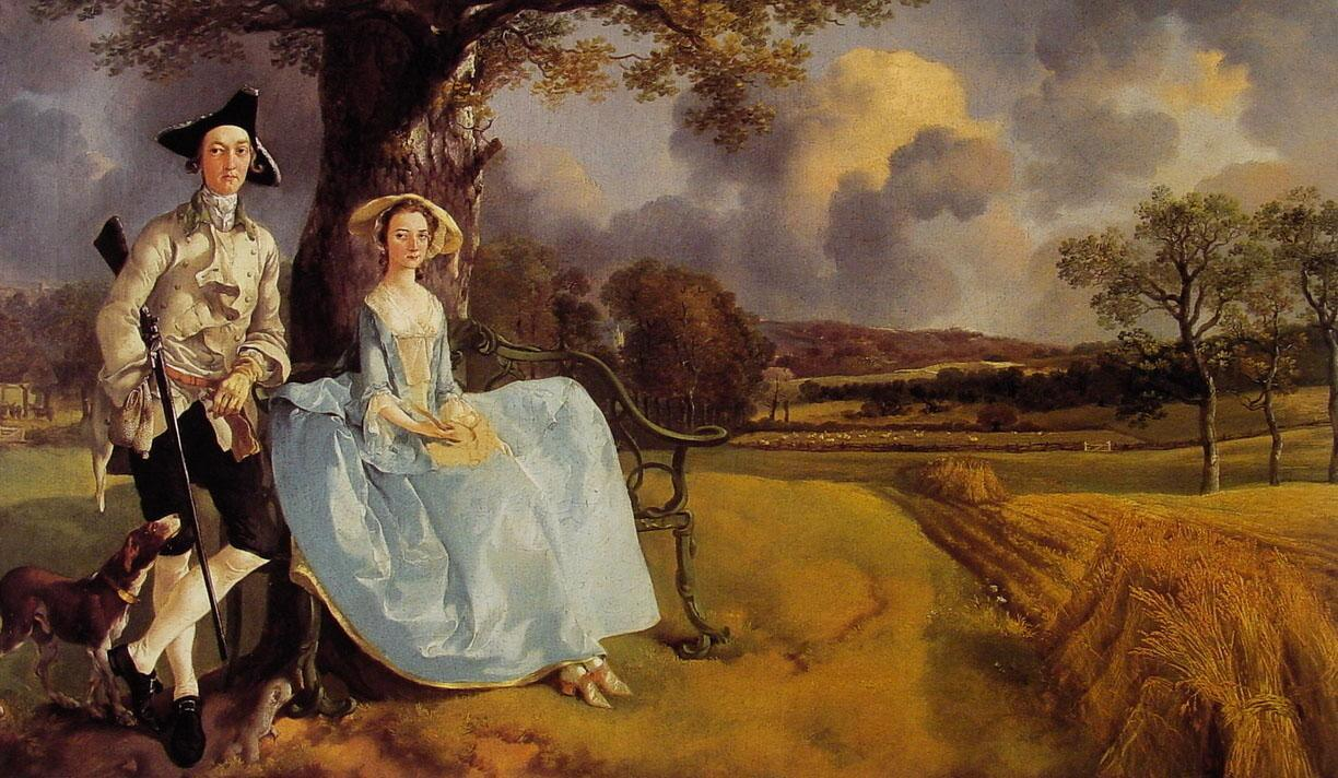 Thomas Gainsborough Mr and Mrs Andrews