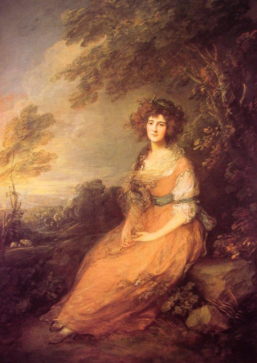 Thomas Gainsborough Mrs Sheridan
