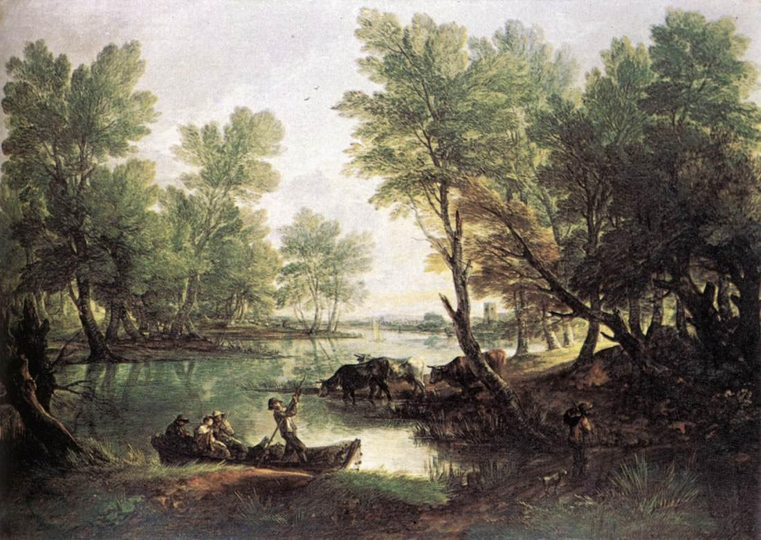 Thomas Gainsborough River Landscape
