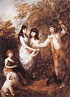 Thomas Gainsborough The Marsham Children painting