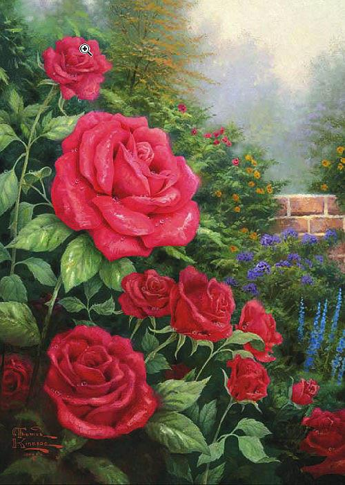 Famous Rose Paintings