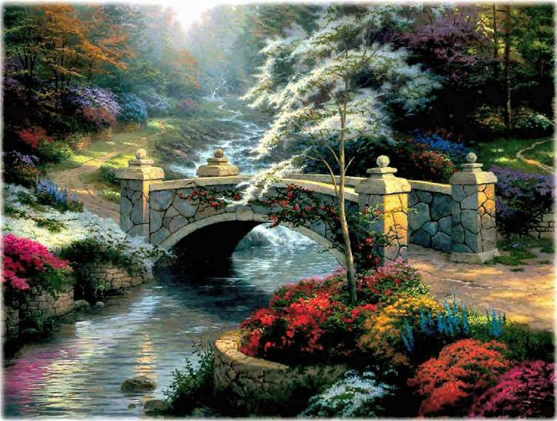Thomas Kinkade Famous Paintings