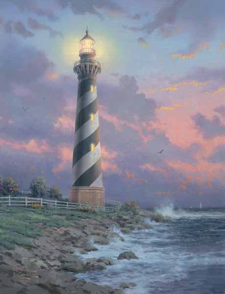 Thomas Kinkade Cape Hatteras Light