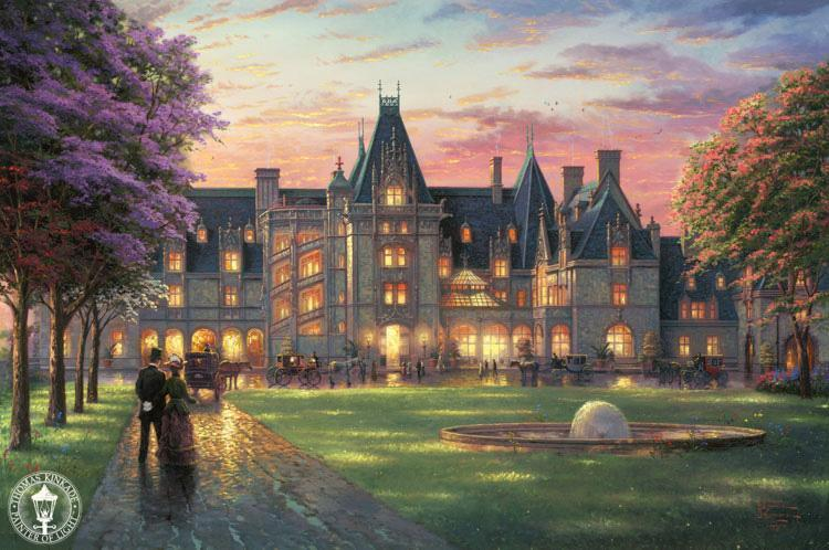 Thomas Kinkade Elegant Evening at Biltmore