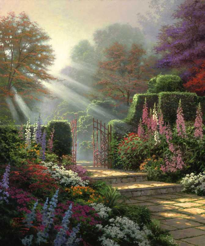 Thomas Kinkade Garden of Grace