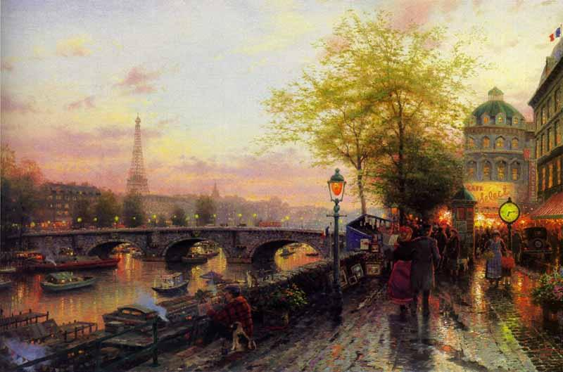Famous Paris Paintings