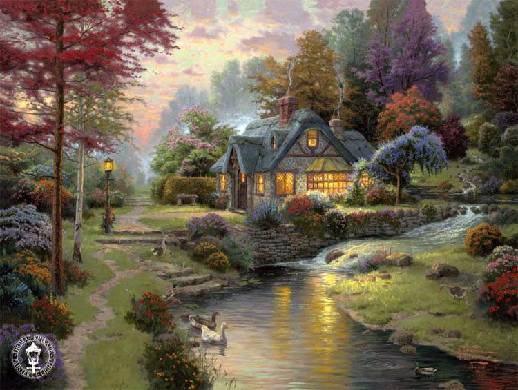 Famous Cottage Paintings