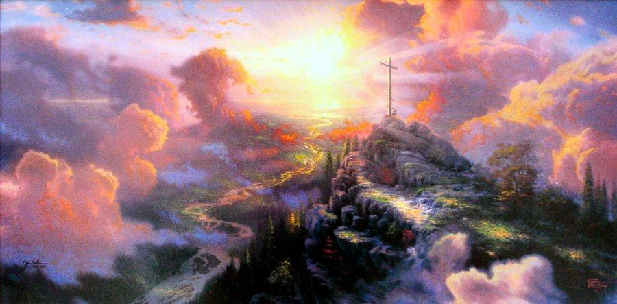 Thomas Kinkade The Cross