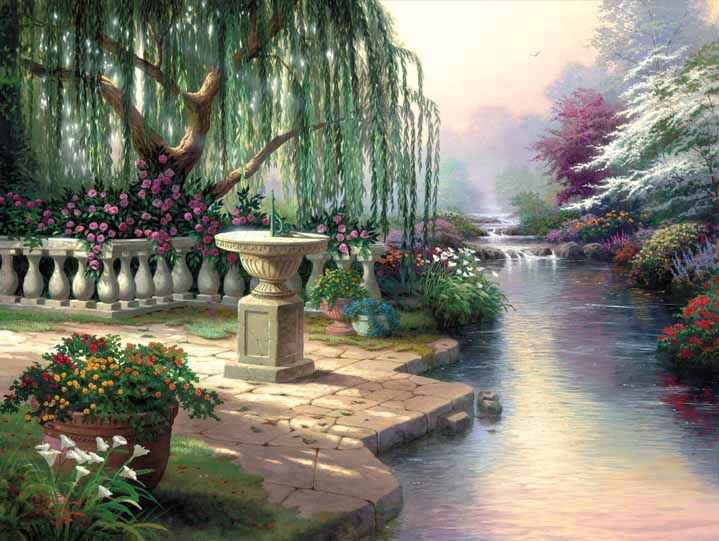 Thomas Kinkade The Hour of Prayer