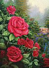 Famous Red Paintings - A Perfect Red Rose