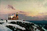 Thomas Kinkade BLOCK ISLAND painting