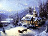 Famous Home Paintings - Home For Christmas