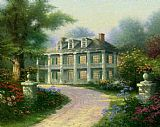 Thomas Kinkade Homestead House painting