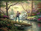 Thomas Kinkade It doesn't get much better painting