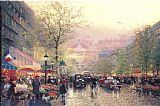 Famous City Paintings - Paris City of Lights