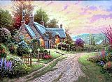 Thomas Kinkade Peaceful Time painting
