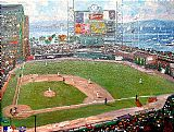 Thomas Kinkade San Francisco Giants painting
