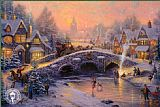 Thomas Kinkade Spirit of Christmas painting
