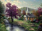 Famous Water Paintings - Streams of Living Water