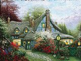 Thomas Kinkade Wall Art - Sweetheart Cottage
